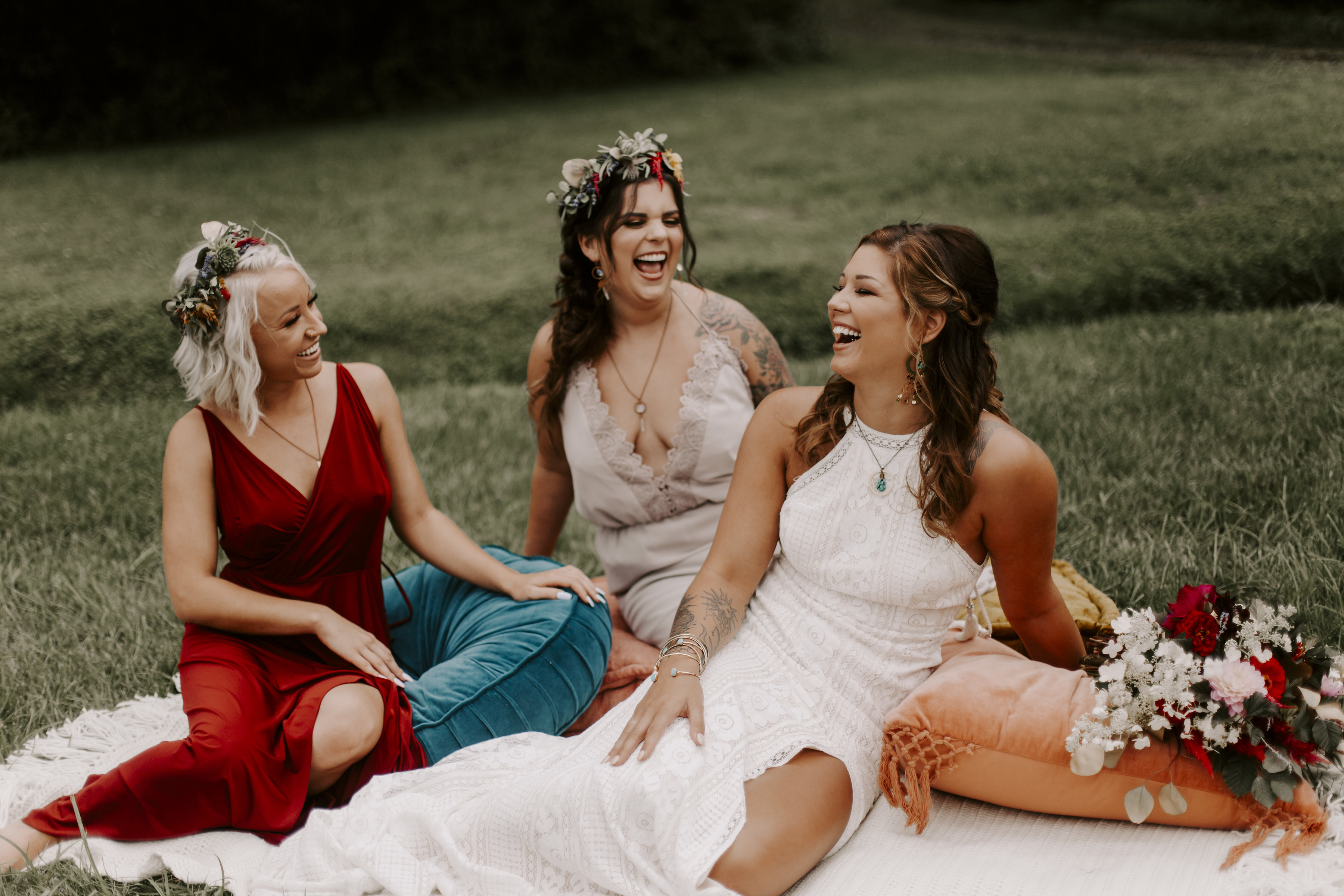 Check Out This Amazing Bob Dylan/Music Festival Inspired Wedding Shoot!