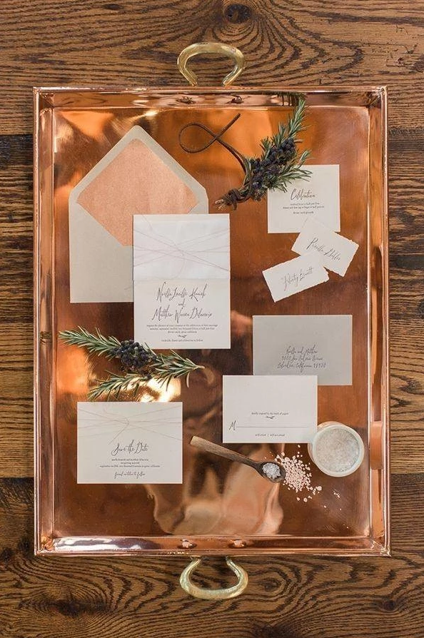 19 Copper Decor Ideas for Your Wedding Day