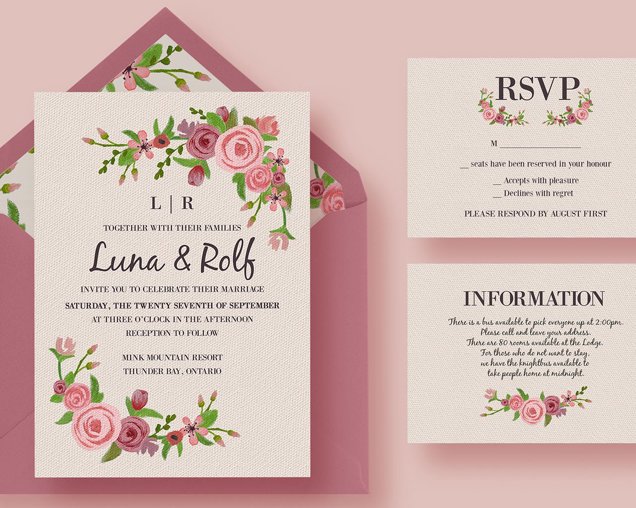 Do you know how to create your wedding invitations? Image